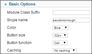 skype backend options